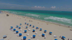 Aerial Miami Beach - stock footage