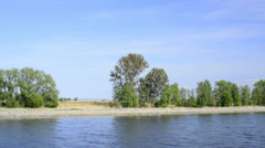 Boat trip on the Piast Canal Stock Footage