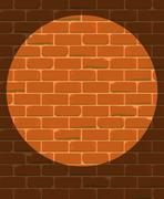 prison wall - stock illustration