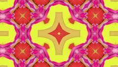 Red Magic oriental rug, loop HD Stock Footage
