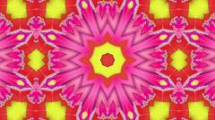 Magenta magical oriental rug, loop HD Stock Footage