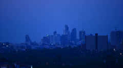 Stock Video Footage of Night City