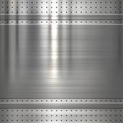 metal plate background - stock illustration