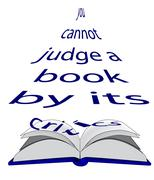 You cannot judge a book by its critics. Stock Illustration