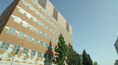 UCLA Building in 4K Stock Footage