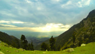 Stock Video Footage of Himalayan landscape view time lapse. October 2013