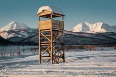 Nalychevo nature park. far east, kamchatka. russia Stock Photos
