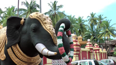 India Federal State of Karnataka City of Mangalore 017 Kudroli Gokarnath Temple Stock Footage