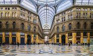 Stock Photo of Naples - Inside The Principe Umberto I Gallery