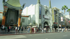 Chinese Theater in 4K Stock Footage