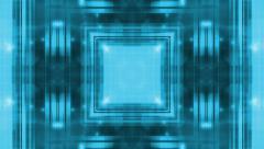Blue Geometric Particle Loop R33 Stock Footage