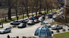 Traffic jam Stock Footage