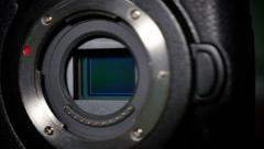 Digital Camera Sensor Detail 4283 - stock footage