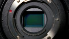 4K Digital Camera Sensor Detail Stock Footage