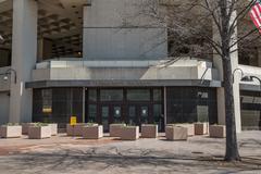 fbi headquarters, washington d.c. - stock photo
