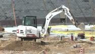 Stock Video Footage of Construction Excavator
