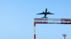 Aircraft takeoff Stock Footage