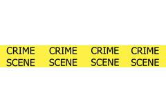 crime scene - stock illustration
