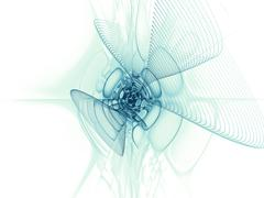 Unfolding of Geometry Stock Illustration