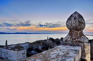 Stock Photo of lookout tower in zadar