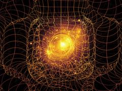 Advance of Geometry - stock illustration