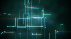 Abstract Light Lines Background Stock Footage