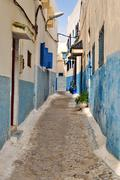 streets of rabat, morocco - stock photo