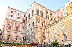 famous Palazzo Cellamare in Naples, Italy - stock photo