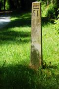 Mile Marker 51 - stock photo