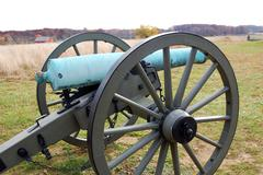 Civial War Cannon - stock photo