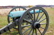 Stock Photo of Civial War Cannon