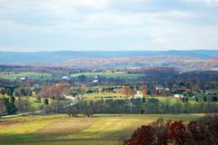 Gettysburg Small Town - stock photo