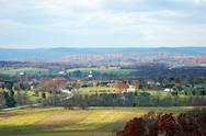 Stock Photo of Gettysburg Small Town