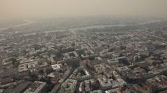 Saint-Petersburg aerial shot - stock footage