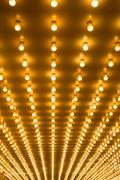 Marquee lights Stock Photos