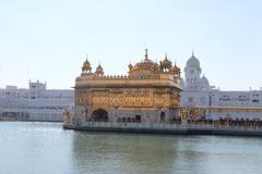 Golden Temple in Amritsar. Stock Photos