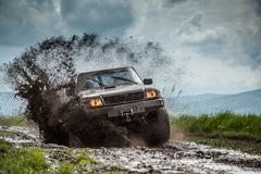 Jeep off road Stock Photos