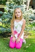 Stock Photo of cute girl