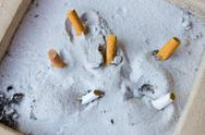 Stock Photo of ashtray with sand