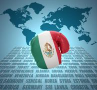 Stock Illustration of mexican fist