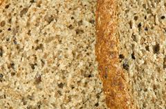 Wholegrain bread - stock photo