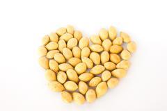 Ginkgo seeds Stock Photos