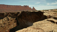 Stock Video Footage of Canyonlands National Park the Maze Area