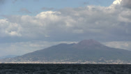 Stock Video Footage of Italy - Campania - Gulf of Naples - Vesuvius