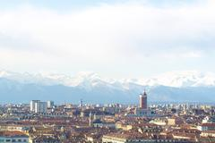 Turin Italy - stock photo