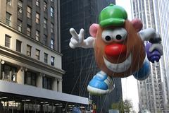Mr.Potato Head Balloon Stock Photos