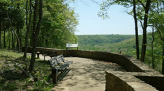 Beautiful Scenic Mammoth Cave National Park HD Stock Footage