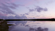 Stock Video Footage of Ria Formosa Algarve - Salt A - Sunset Timelapse