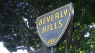 Stock Video Footage of 4K Beverly Hills Sign, California