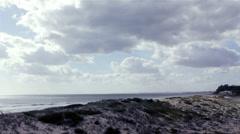 Algarve Timelapse Dunas Douradas B Stock Footage